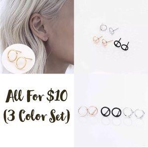 3 Earrings Bundle